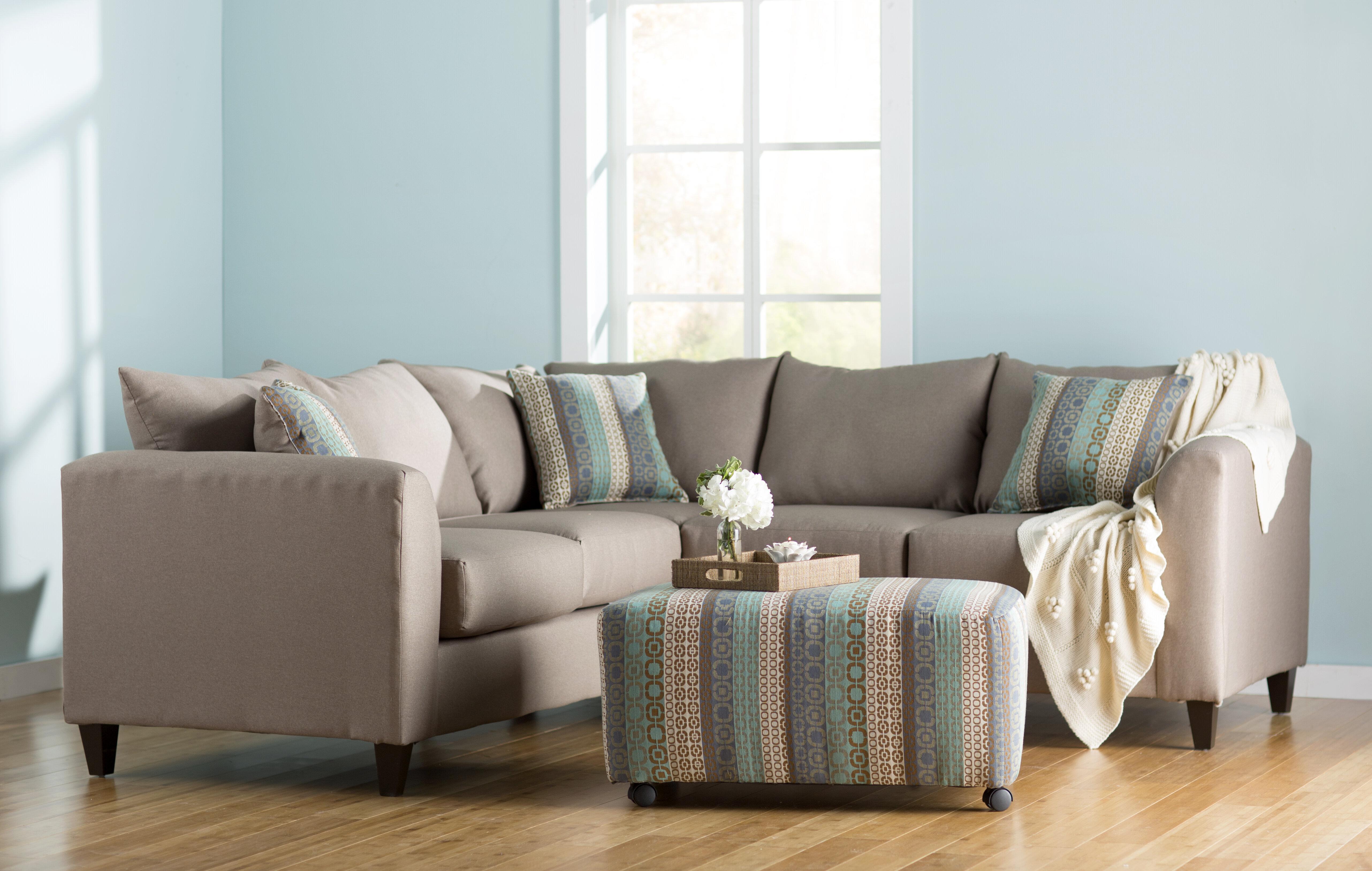 Beachcrest Home Allyn Sectional & Reviews | Wayfair