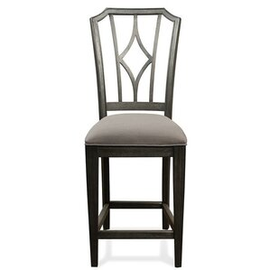 Paredes Upholstered Diamond Back Dining Chair (Set of 2) by One Allium Way