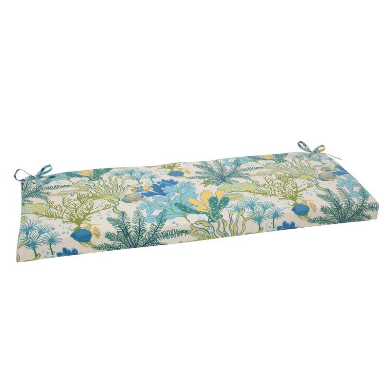 Splish Splash Outdoor Bench Cushion