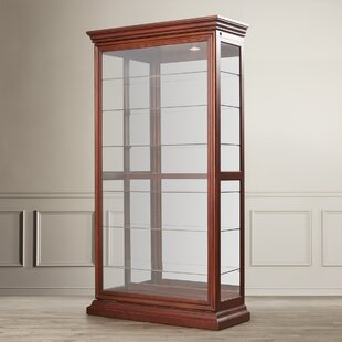 Braeden Lighted Curio Cabinet