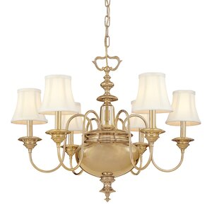 Ellington 6-Light Shaded Chandelier