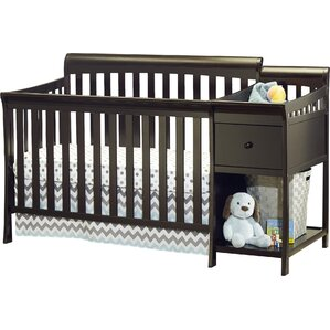 Florence 4 In 1 Convertible Crib And Changer Combo
