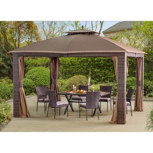 Sonoma 12 Ft. W x 10 Ft. D Steel Patio Gazebo  sc 1 st  Wayfair : outdoor gazebo canopy - afamca.org