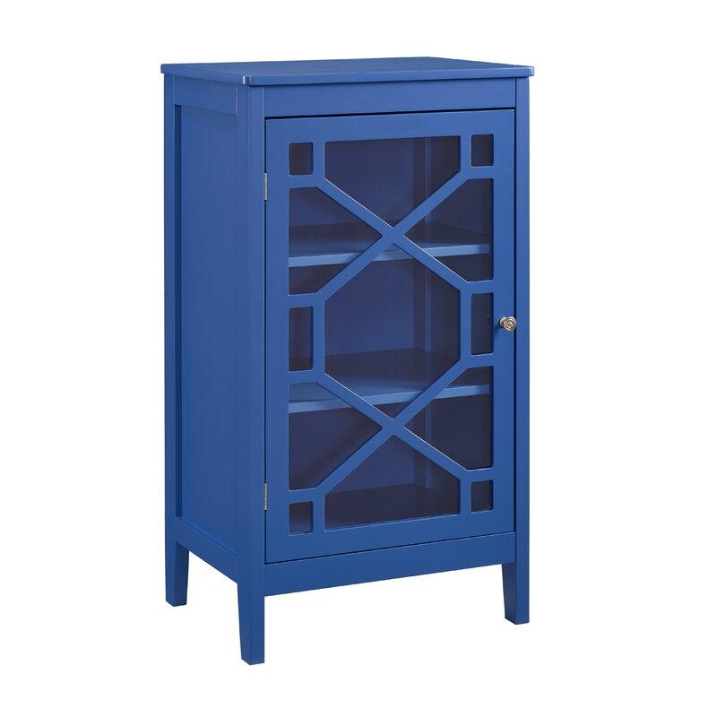 Charlton Home Zauber Small 1 Door Accent Cabinet & Reviews   Wayfair