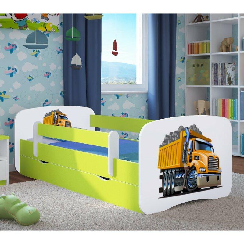 kocot kids funktionsbett excavator mit matratze und schublade bewertungen. Black Bedroom Furniture Sets. Home Design Ideas