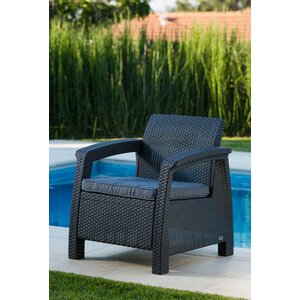 Berard All Weather Outdoor Armchair with Cushions