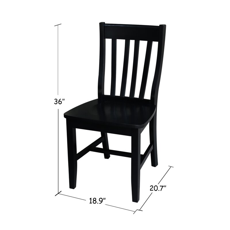 Toby traditional solid wood dining chair reviews joss for Traditional wooden kitchen chairs