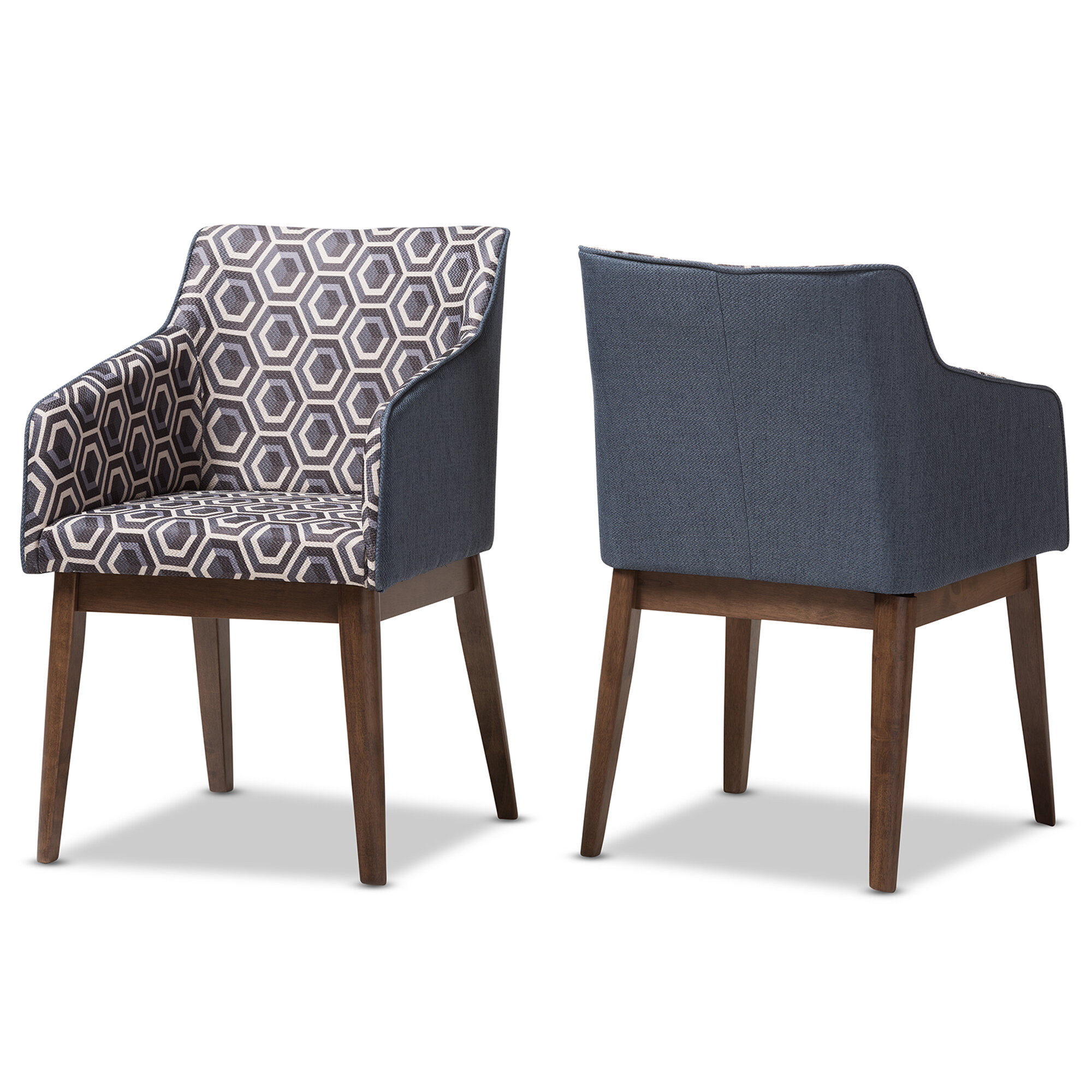 Attirant Wholesale Interiors Eric Patterned Fabric Armchair U0026 Reviews | Wayfair