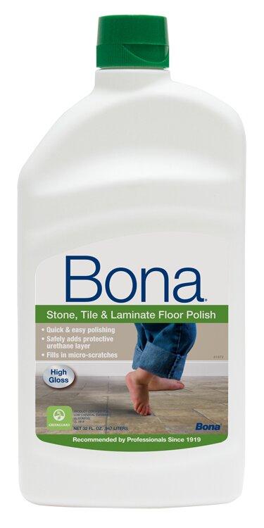 Bona Stone Tile And Laminate Floor Polish 32 Oz Reviews Wayfair