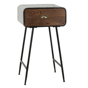 Ordinaire Vesely End Table With Drawer