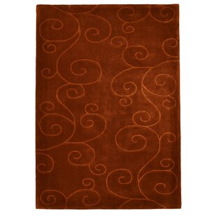 Hand Tufted Chocolate Rug by Bakero