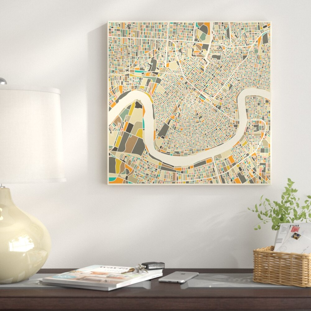 City Map New Orleans on