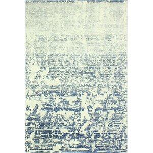 Arlingham Ivory/Blue Area Rug