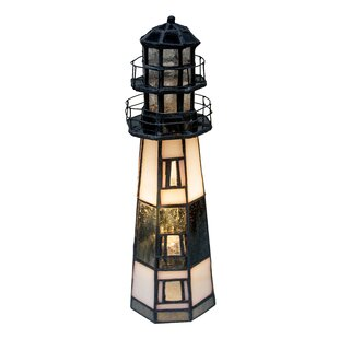 Lighthouse lamp wayfair montauk point lighthouse 95 table lamp aloadofball Choice Image