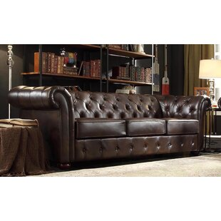 Fine Luxury Handmade Cigar Faux Leather Chesterfield Style 2 Seater Sofa Cognac Home, Furniture & Diy