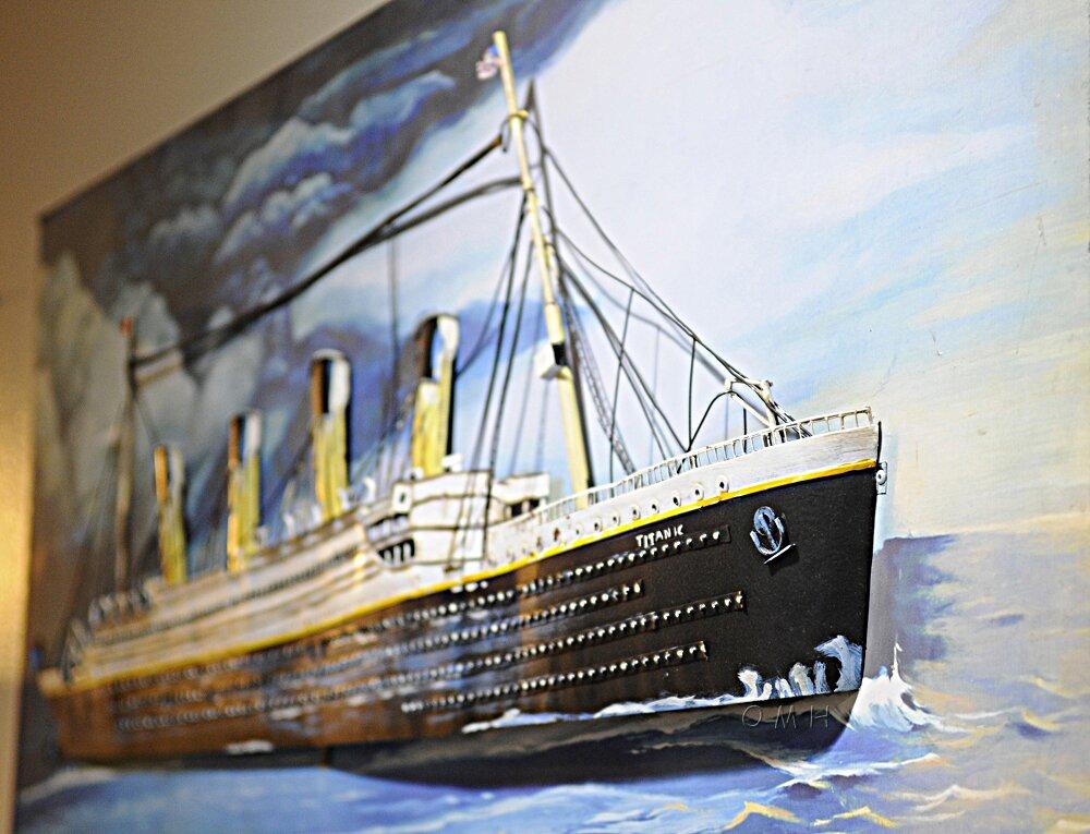 Old Modern Handicrafts Titanic 3D Painting Wall Décor & Reviews ...