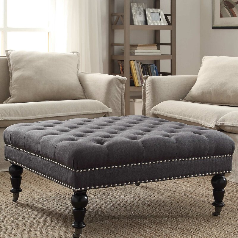 Delicieux Randy Tufted Ottoman