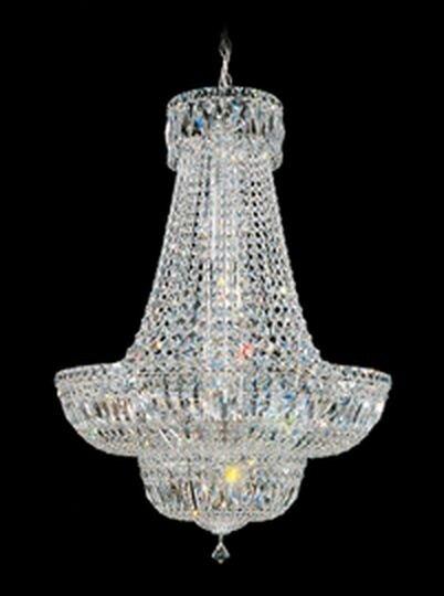 Schonbek Petit Crystal Deluxe 16-Light Empire Chandelier & Reviews ...