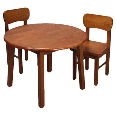 Zoomie Kids Damato Kids 3 Piece Table and Chair Set Color: Honey