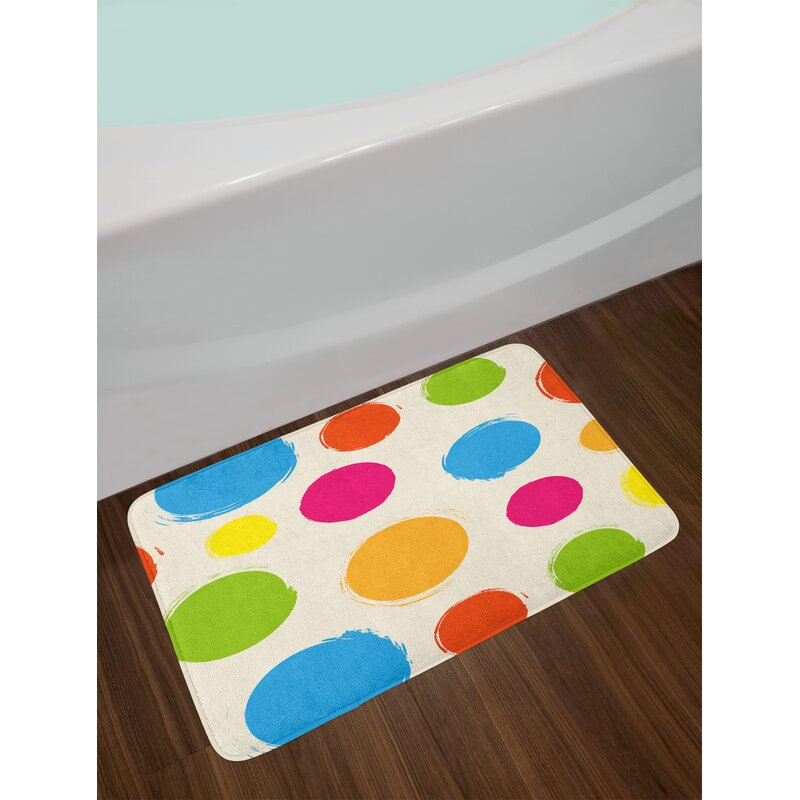 c0e55a8ce East Urban Home Ambesonne Abstract Bath Mat by