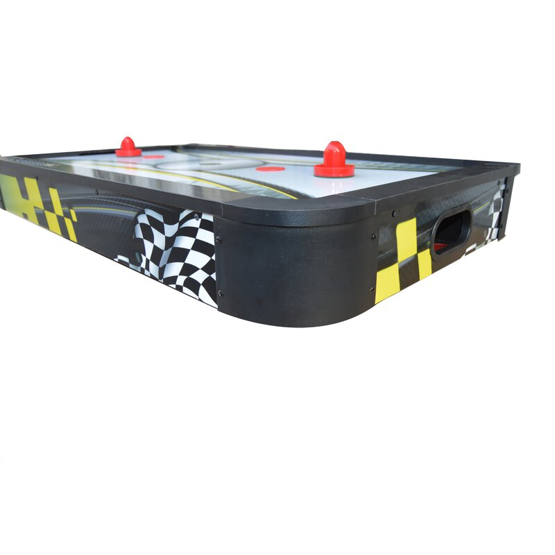 Le Mans 42 In Tabletop Air Hockey Table With Dual Scoring System And High