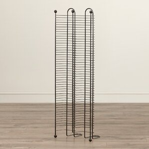 Symple Stuff 100 CD Multimedia Nestable Wire Rack