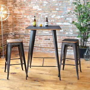Claremont 3 Piece Pub Table Set by Trent Austin Design