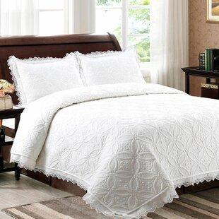 danielburnham lace quilt set - Vintage Bedding