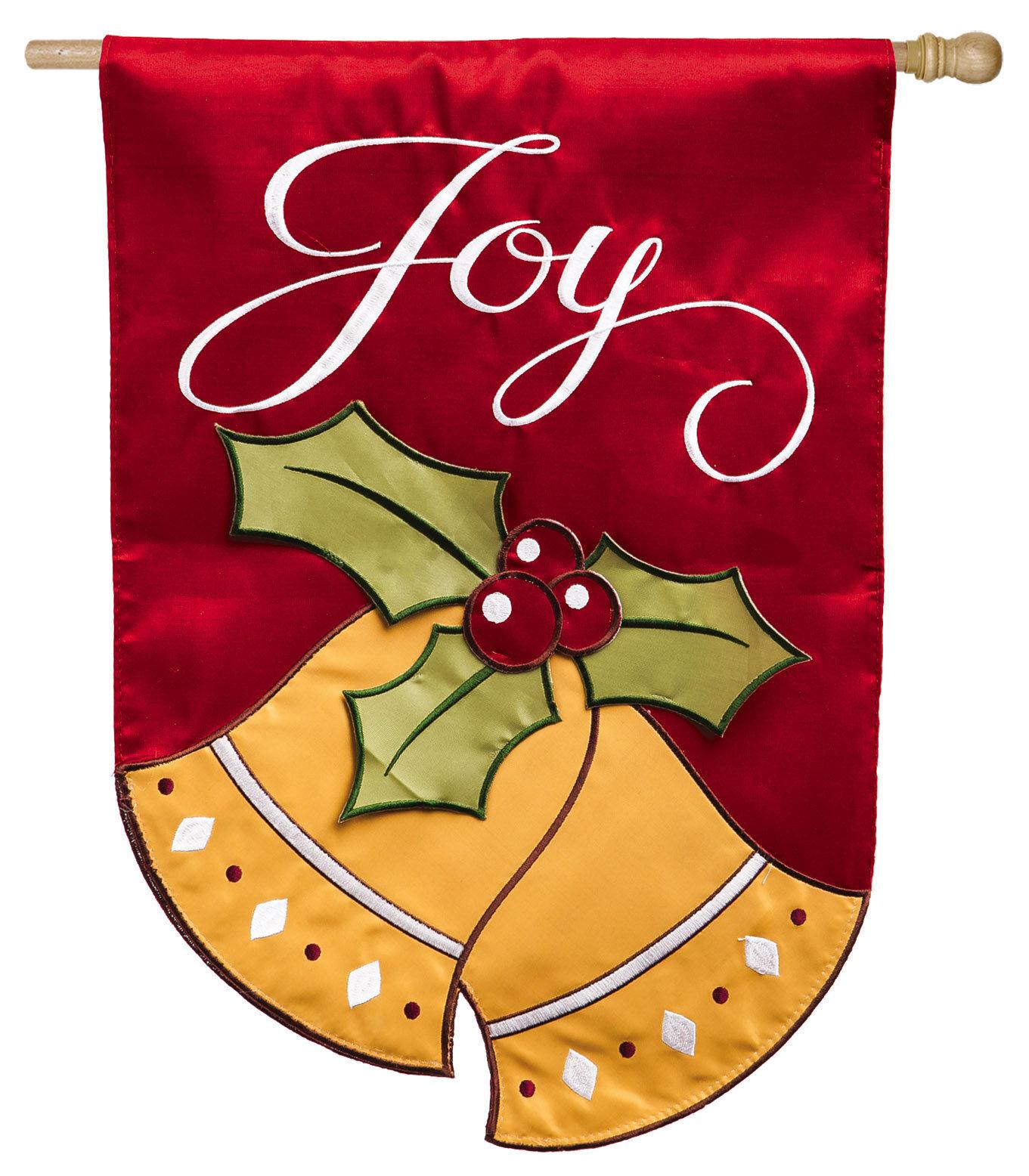 Evergreen Enterprises, Inc Joyful Christmas Bells Regular Applique 2 ...