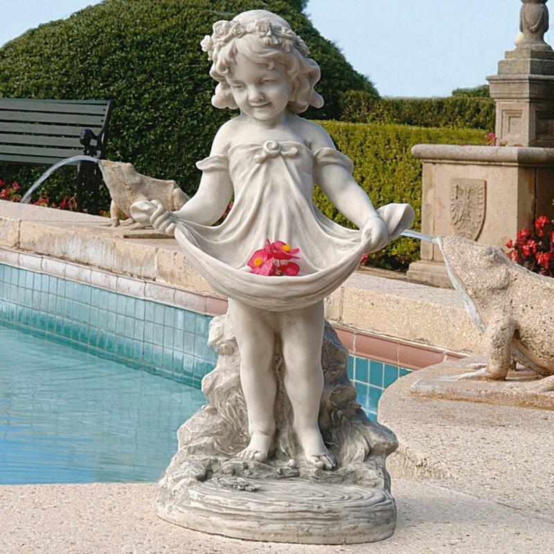Abigail's Bountiful Apron Statue