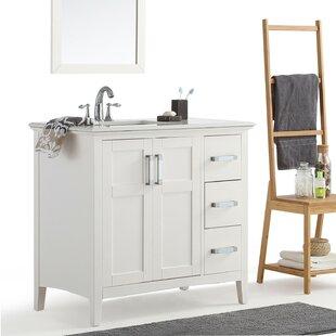 Charmant Left Offset Sink Vanity   Wayfair