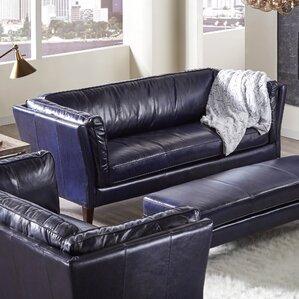 Betton Leather Sofa by Latitude Run
