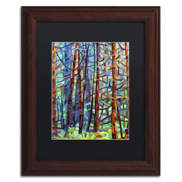 paint for bedroom trademark quot in a pine forest quot by mandy budan framed 12770