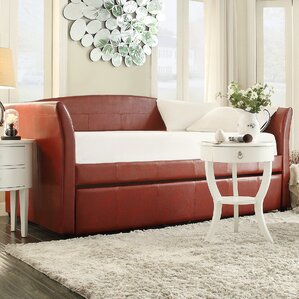 Burlington Daybed with Trundle in Wine..