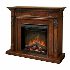 Torchiere Electric Fireplace by Dimplex
