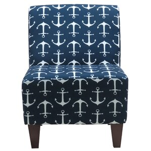 Donnington Anchor Armless Slipper Chair