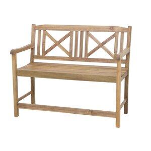 2-Sitzer Bank Serena aus Holz von Siena Garden