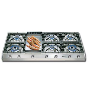 48″ Gas Cooktop with 7 Burners