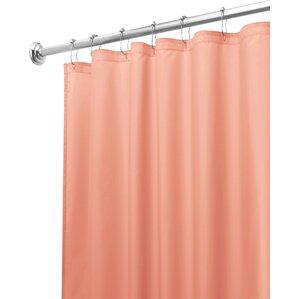 pale pink shower curtain. Mildew Free Water Repellent Shower Curtain Pink Curtains You ll Love