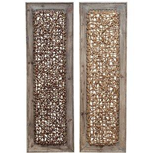 Wood Wall Decor Set (Set Of 2)