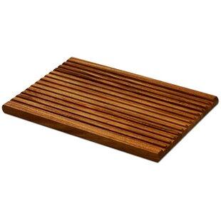 Wooden Rectangular End Grain Chopping Board Hand Made 22cm X26cm X 3cm