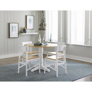 Finley Round 5 Piece Dining Set by Beachcrest Home
