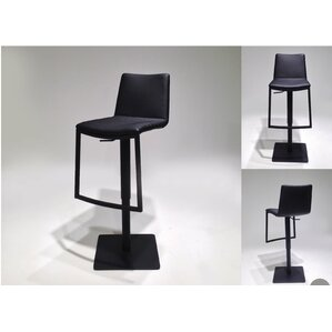 Raven Adjustable Height Swivel Bar Stool by Mobital