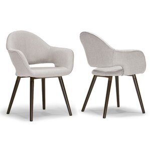 Adel Arm Chair (Set of 2) by Glamour Home Decor