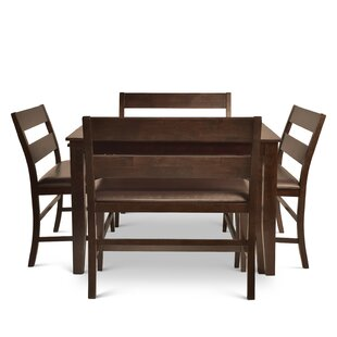 Wynwood 5 Piece Counter Height Dining Set