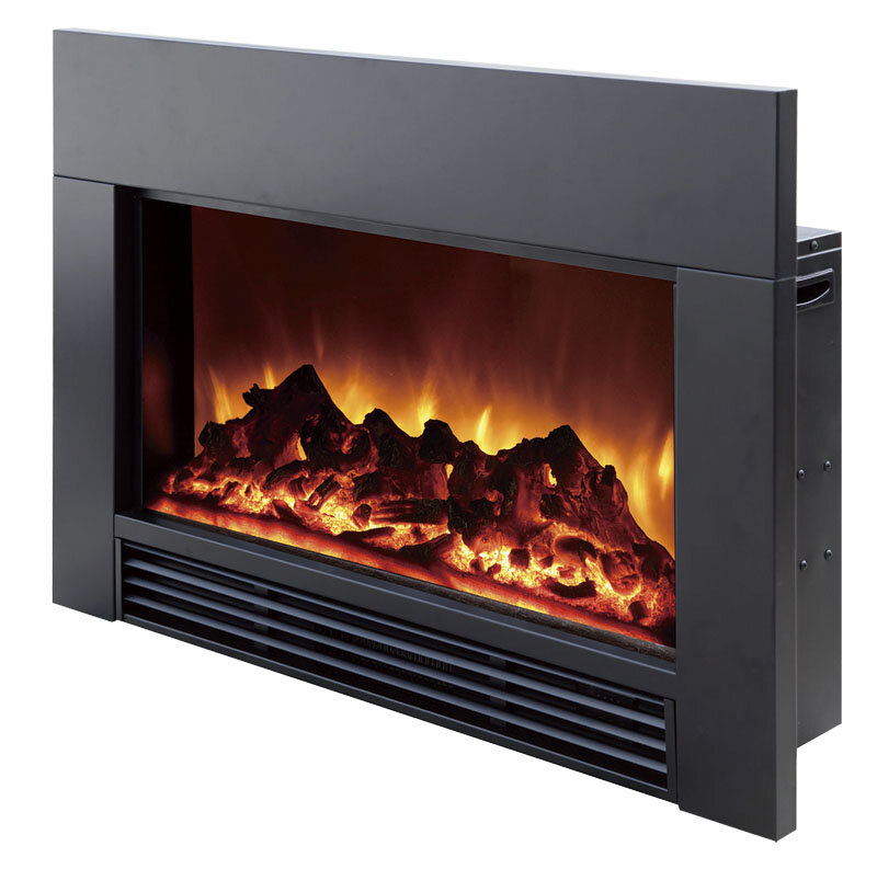Astonishing Electric Fireplace Insert Interior Design Ideas Greaswefileorg