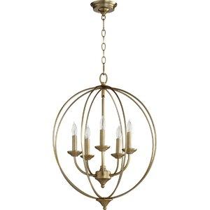 Buy Flora Fall 5-Light Globe Pendant!