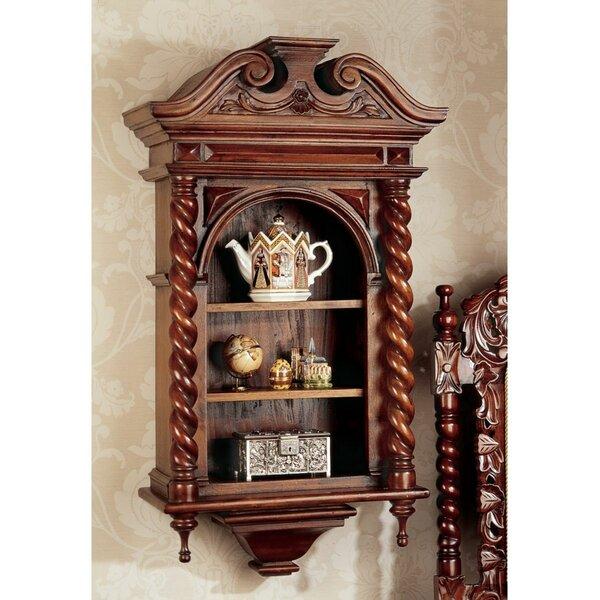 Design Toscano Charles II Wall Mounted Curio Cabinet U0026 Reviews   Wayfair