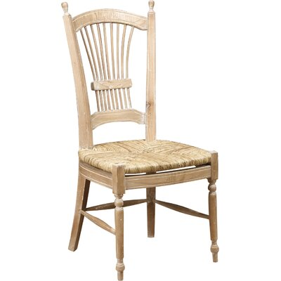 Wheat Back Side Chair  sc 1 st  Wayfair & AA Importing Wheat Back Side Chair | Wayfair