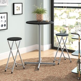 Palma 3 Piece 38 Pub Table & Stool Set